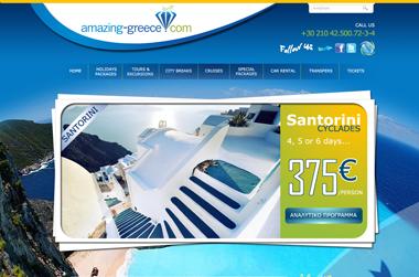 amazing-greece.com - Website by VELA digital