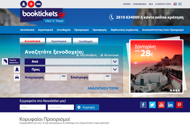 Booktickets - Website by VELA digital