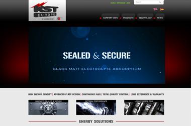 KST Europe – Website by VELA digital