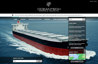 Oceantech - Website by VELA digital