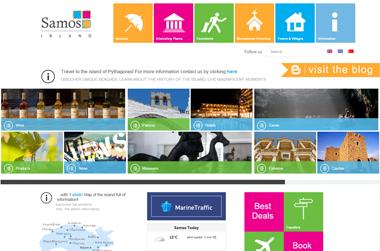 Samos Island - Website by VELA digital