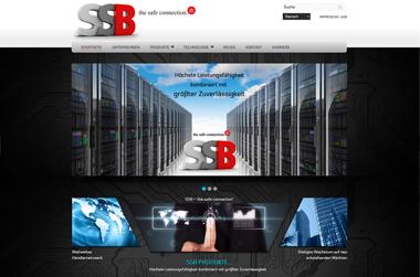 SSB - Website by VELA digital