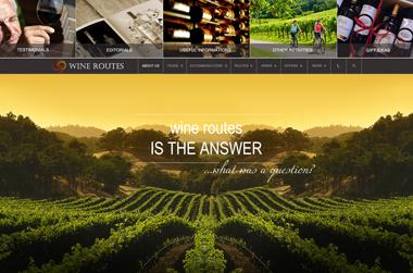 Greek Wine Roads - Website by VELA digital